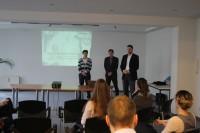 kreITiv-Geschäftsführer Rainer Witt begrüßt die Gäste der Veranstaltung