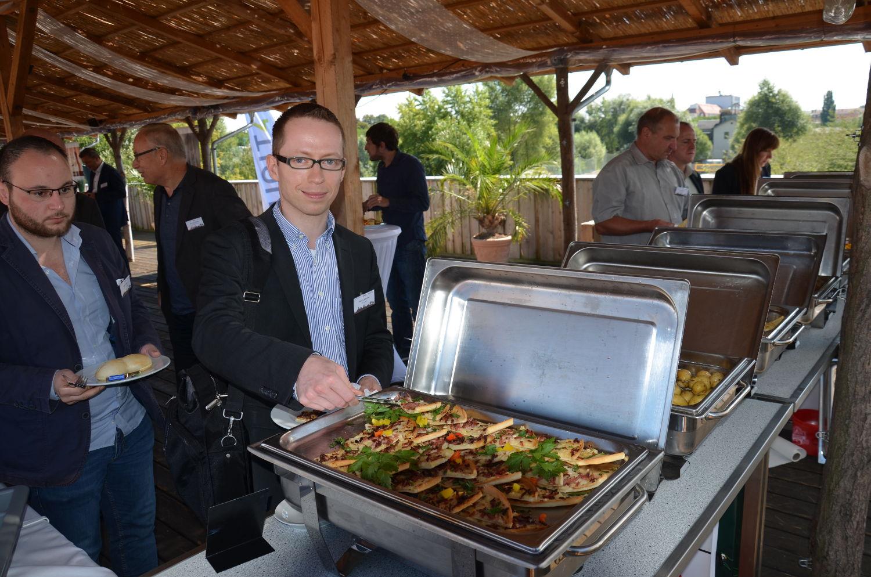 kreITiv Sommerevent 2016 Buffet