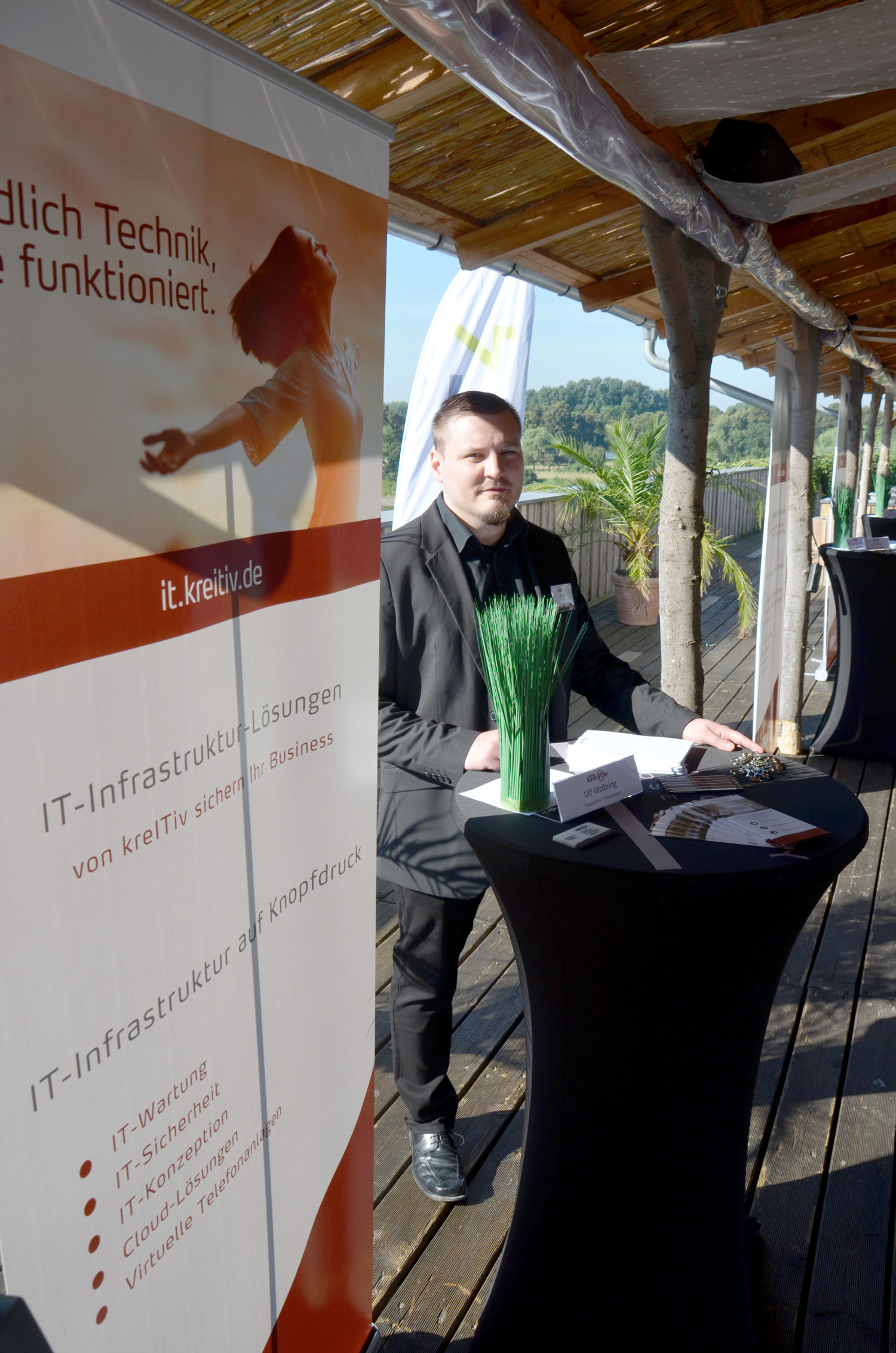 kreITiv Sommerevent 2016 IT-Stand