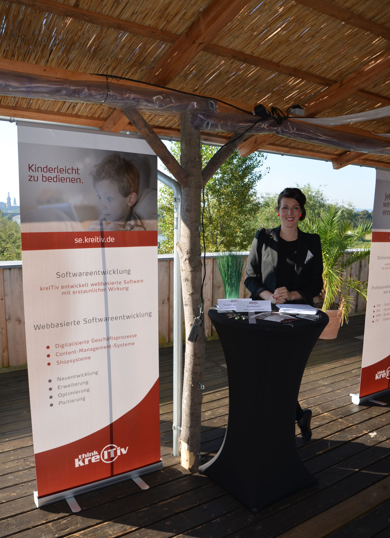 kreITiv Sommerevent 2016 Softwareentwicklung Stand