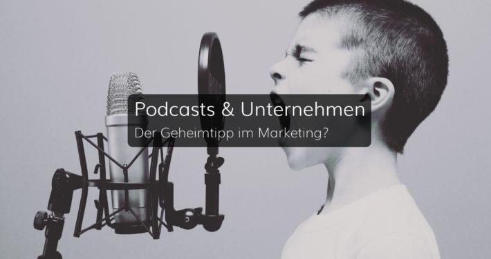 Podcast - ein neuer Kanal im Marketingmix