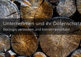 Backups und Archive - von der Strategie zur technischen Umsetzung