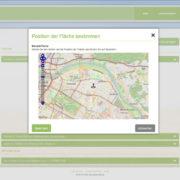 Die Geolokalisierung auf www.agrarberatung.de