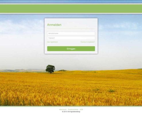 Sicheres Login auf www.agrarberatung.de