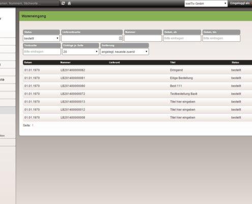 Das webbasierte Warenwirtschaftssystem von kreITiv