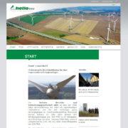 Die Webseite der heliotec Betriebs- und Verwaltungsgesellschaft mbH