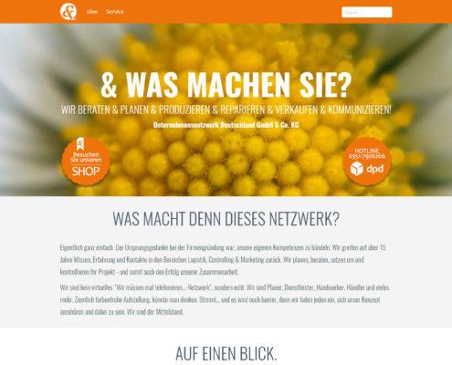 Die Webseite von www.un-deutschland.de