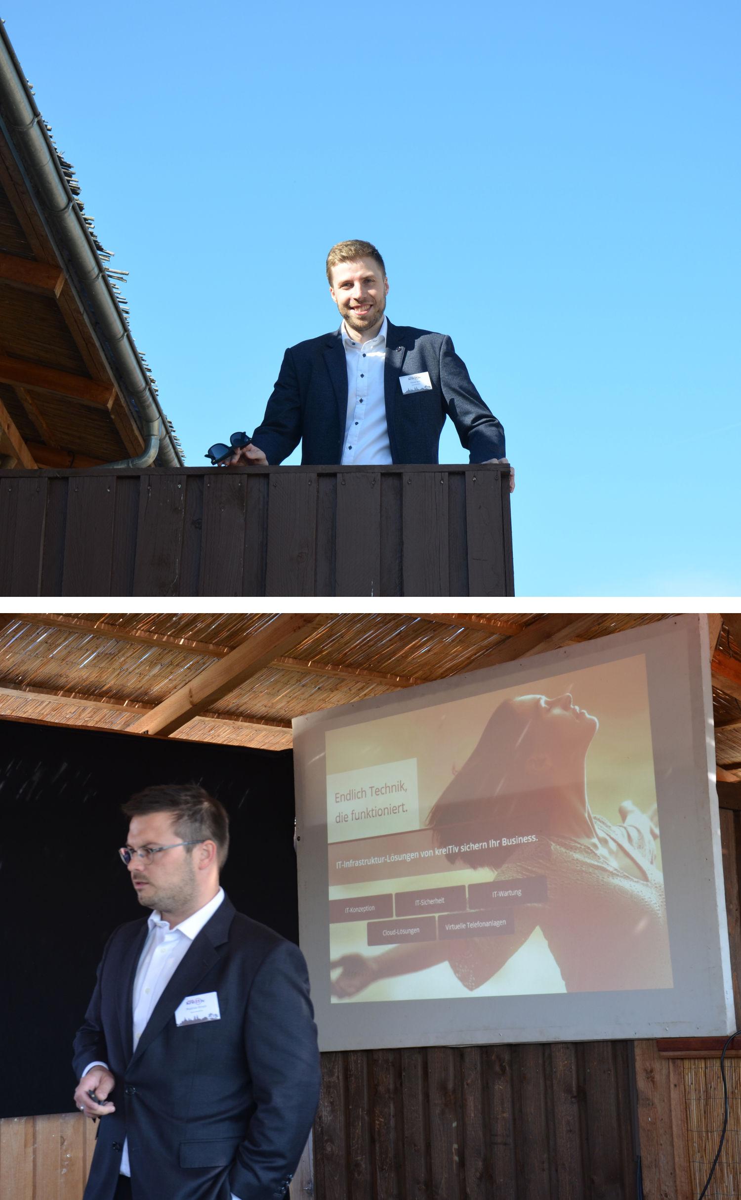 kreITiv Geschäftsführer Rainer Witt und Matthias Ehnert
