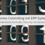 Unternehmerische Kontrolle, Planung und Steuerung im ERP-Controlling