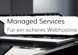 Backups, Updates und Monitoring als Leistungen der Managed Services