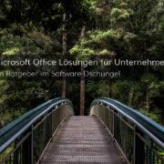 Wir zeigen Ihnen den Weg zur geeigneten Microsoft Office Software für Ihr Unternehmen