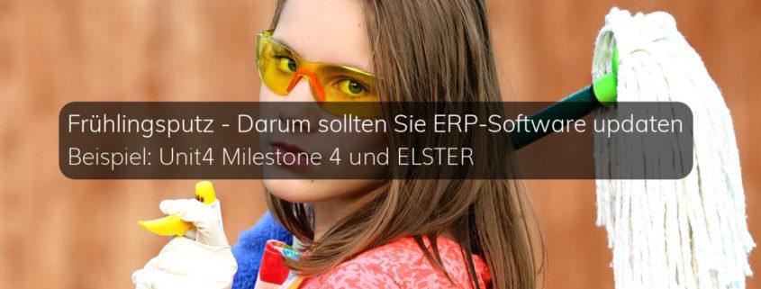 Notwendigkeit von ERP-Updates am Beispiel