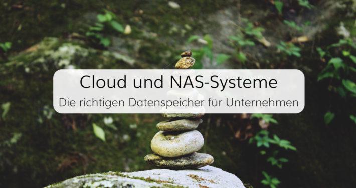 Sichere Speicherung von Unternehmensdaten in Cloud- oder NAS-Systemen