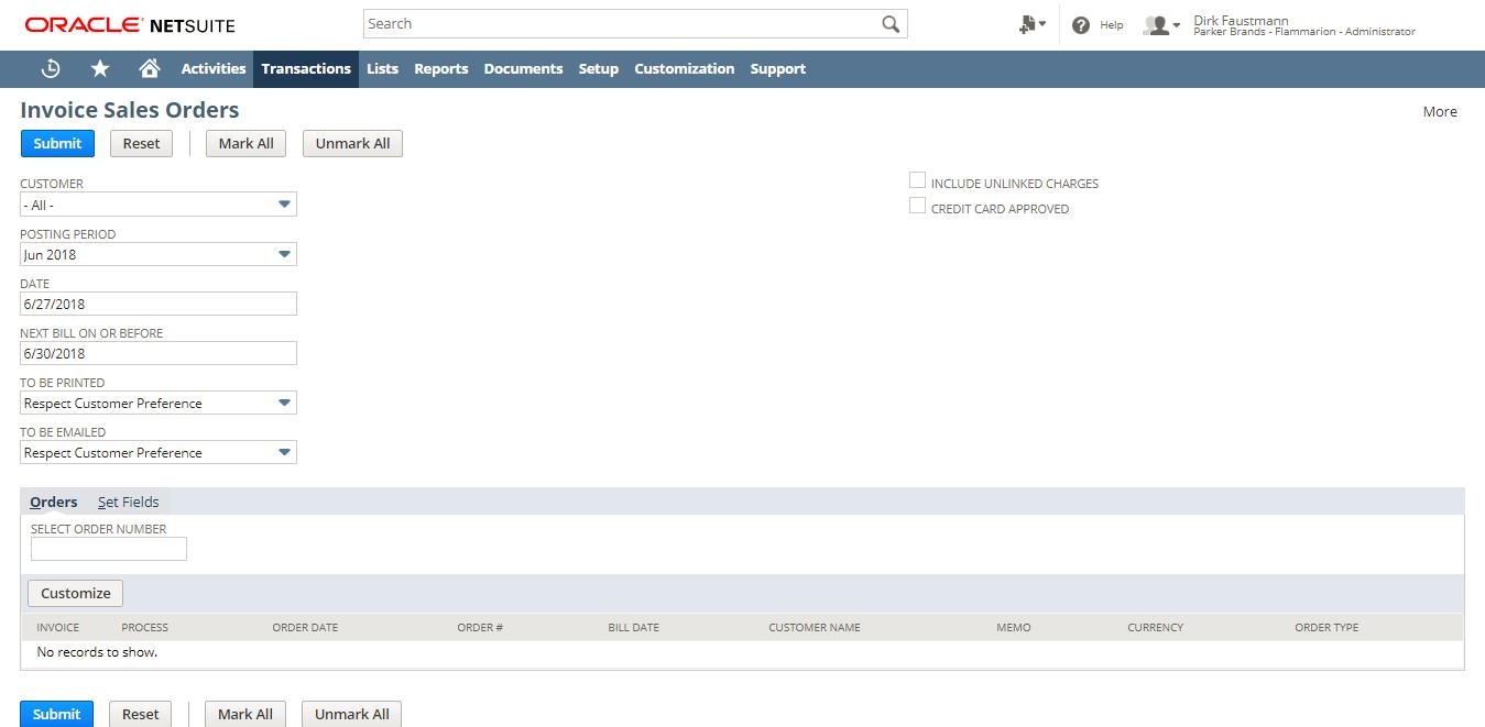 Buchhaltung mit Oracle NetSuite
