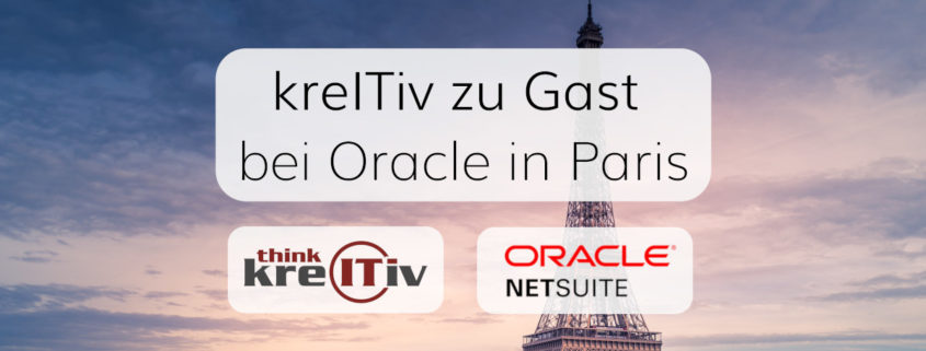 Unsere Berater besuchten Oracle zum NetSuite-Workshop
